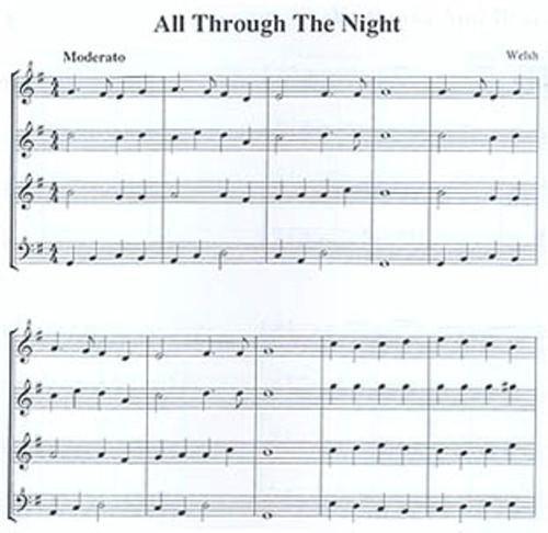 The Quartet Recorder, Book 1 (10 folksongs) -sc [Mag:CM01025]