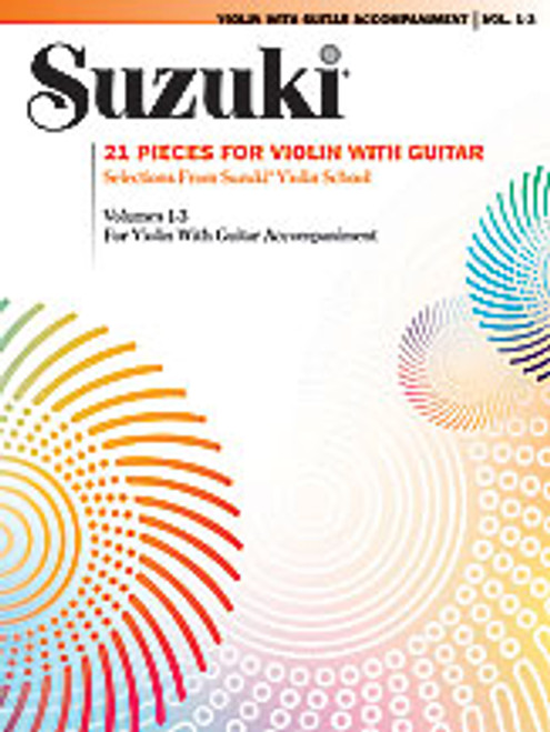 21 Pieces for Violin with Guitar [Alf:00-0295S]