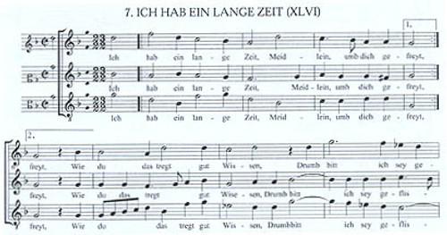 10 Lieder in villanella style - 3 sc [LP:LPMTM04]