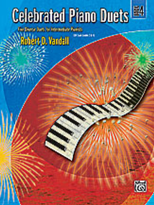 Vandall, Celebrated Piano Duets, Book 4 [Alf:00-24551]