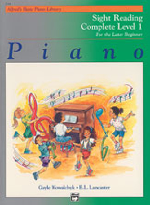Alfred's Basic Piano Course: Sight Reading Book Complete Level 1 (1A/1B) [Alf:00-5744]