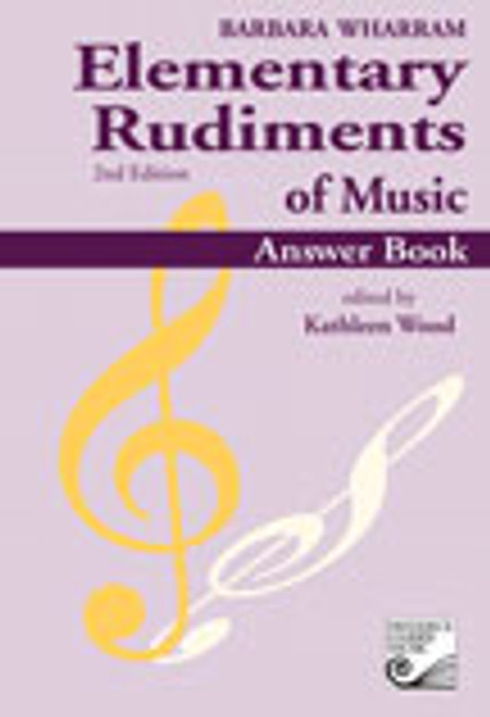 Wharram, Elementary Rudiments of Music Answer Book, 2nd Edition   FH:TWERA[Gen]