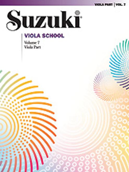 Suzuki Viola School Viola Part, Volume 7 [Alf:00-0493]