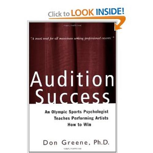 Greene - Audition Success (A Theatre Arts Book) [BT:978-0878301218]