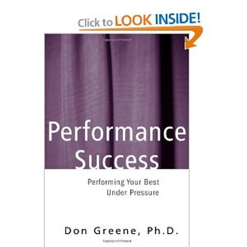 Greene - Performance Success [BT:978-0878301225]