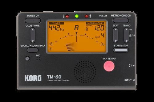 Korg TM60 Instrument Tuner and Metronome [HT:TM-60]