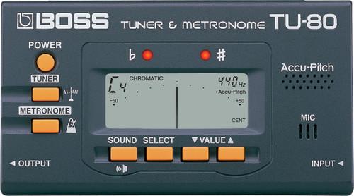 Boss TU-80: Tuner/Metronome [ROL:TU-80]