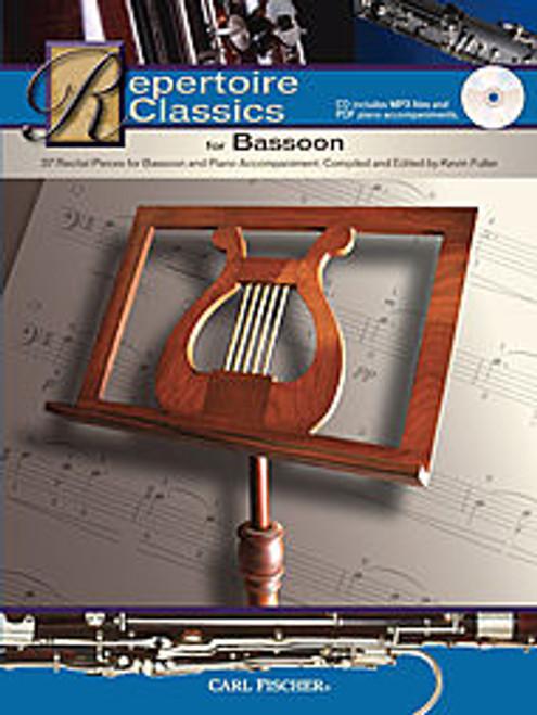 Fuller - Repertoire Classics for Bassoon [CF:WF141]