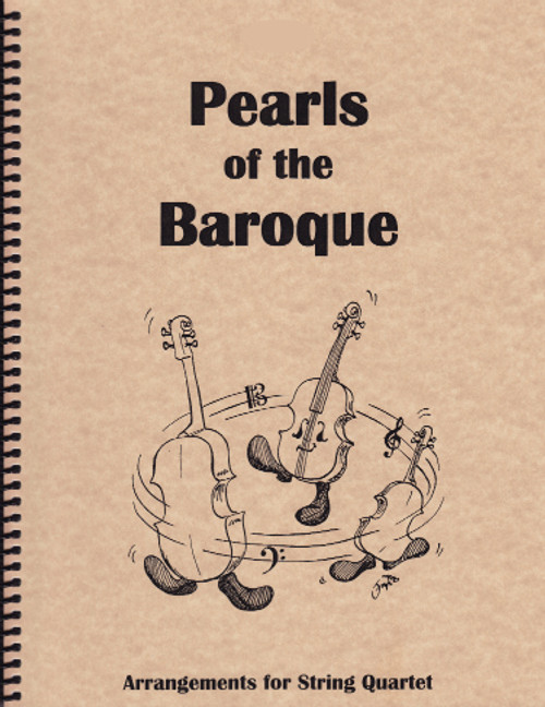 Pearls of the Baroque - for String Quartet (2 Violins, Viola and Cello) [LR:10400]