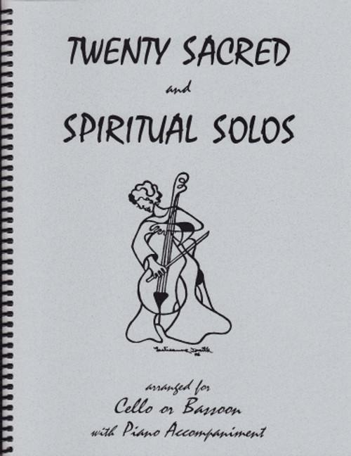 20 Sacred and Spiritual Solos for Cello/Bassoon [LR:40010]