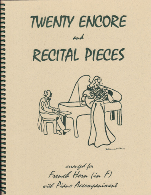 20 Encore and Recital Pieces for French Horn [LR:40020]