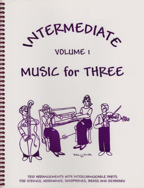 Intermediate Music for Three, Volume 1, Part 2 - Viola [LR:52122]