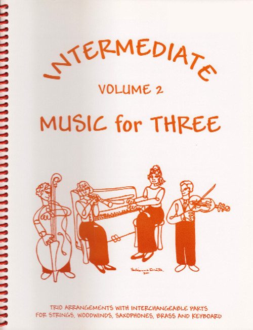 Intermediate Music for Three, Volume 2, Part 2 - Viola [LR:52222]