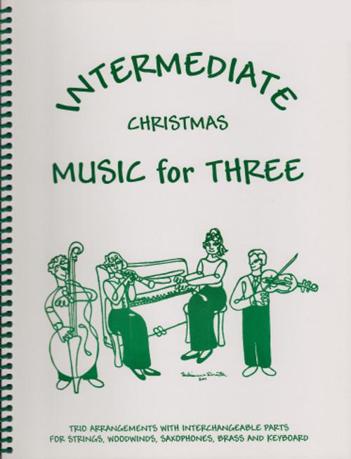 Intermediate Music for Three, Christmas, Part 2 - Viola [LR:53122]