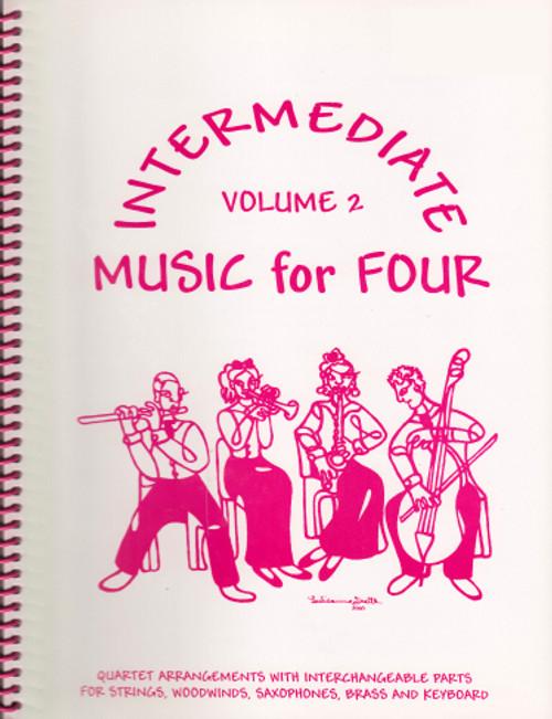 Intermediate Music for Four, Volume 2, Part 3 - Viola [LR:72231]