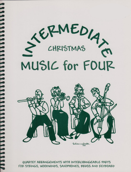 Intermediate Music for Four, Christmas, Part 4 - Bass Clarinet [LR:73143]