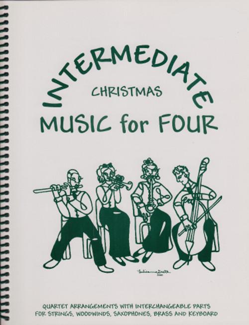 Intermediate Music for Four, Christmas, Part 4 - Baritone Saxophone [LR:73145]
