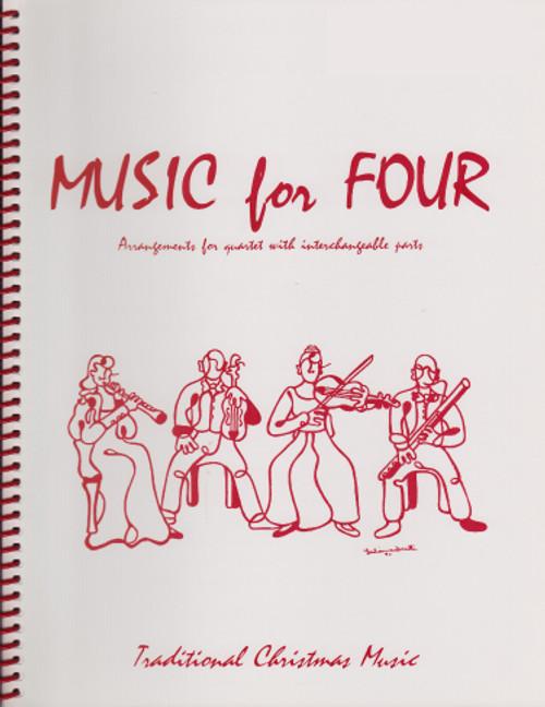 Music for Four, Christmas, Part 2 - Flute/Oboe/Violin [LR:75121]