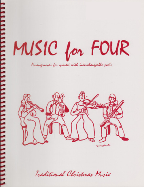 Music for Four, Christmas, Part 4 - Bass Clarinet [LR:75143]