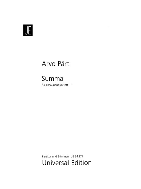 Part, Summa [CF:UE034377]
