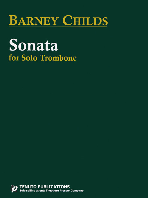 Childs, Sonata for Solo Trombone [CF:494-00033]