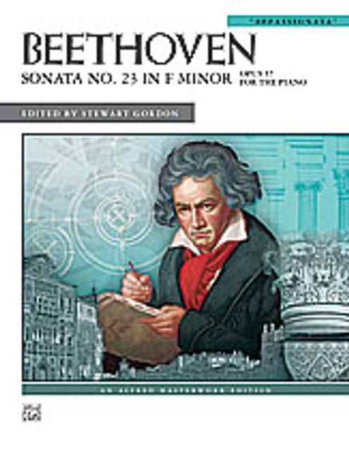 Beethoven, Sonata No. 23 in F Minor, Op. 57 [Alf:00-27906]