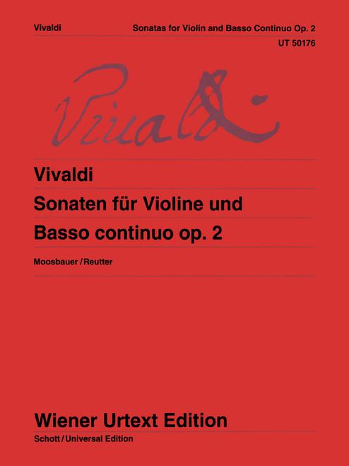 Vivaldi, Sonatas for Violin and Basso Continuo [CF:UT050176]