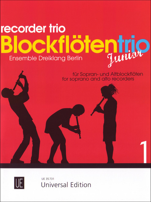 Recorder Trio Junior Vol.1 [CF:UE035731]