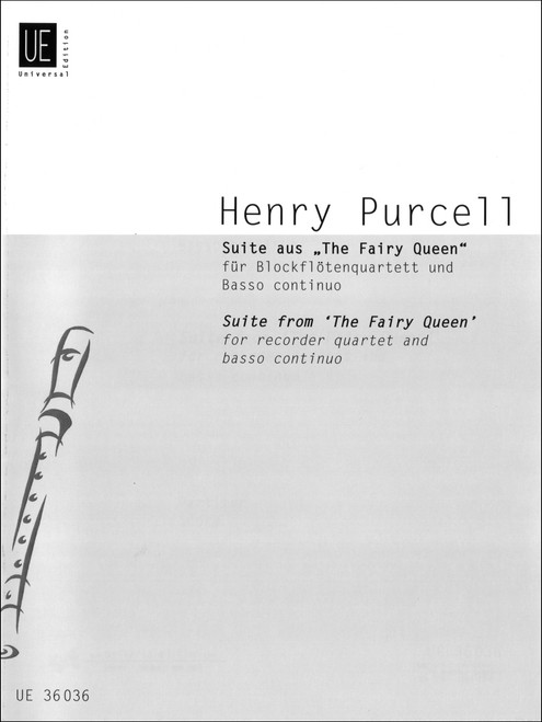 """Purcell, Suite From """"The Fairy Queen"""" [CF:UE036036]"""