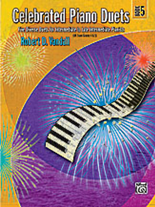 Vandall, Celebrated Piano Duets, Book 5 [Alf:00-24552]