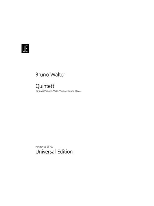 Walter, Quintet [CF:UE035757]