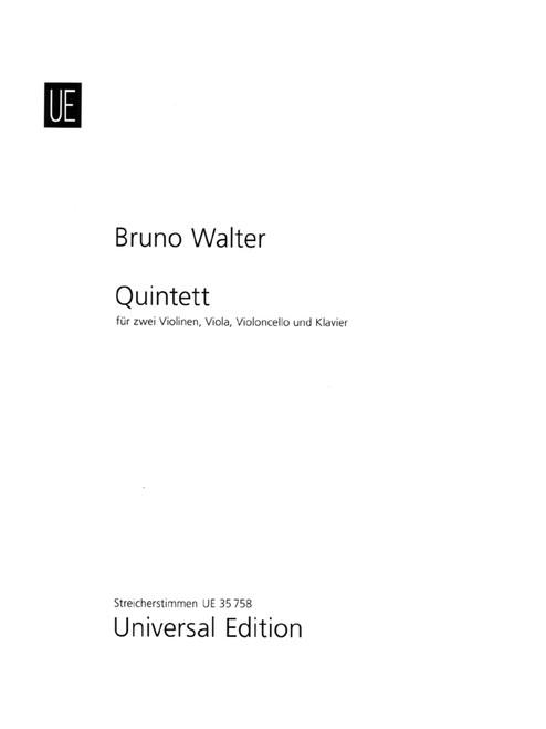 Walter, Quintet [CF:UE035758]