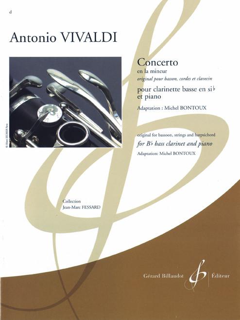 Vivaldi, Concerto En La Mineur [CF:524-08659]