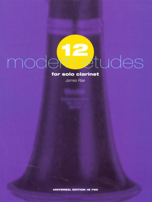 12 Modern Etudes for Solo Clar [CF:UE018790]