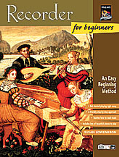 Recorder for Beginners  [Alf:00-19408]