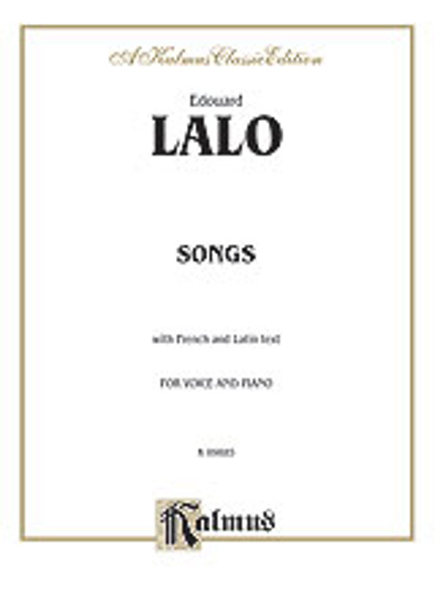 Lalo, Songs for Voice and Piano [Alf:00-K09885]