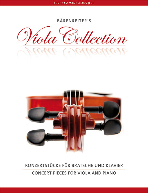 Concert Pieces for Viola and Piano [BA9697]