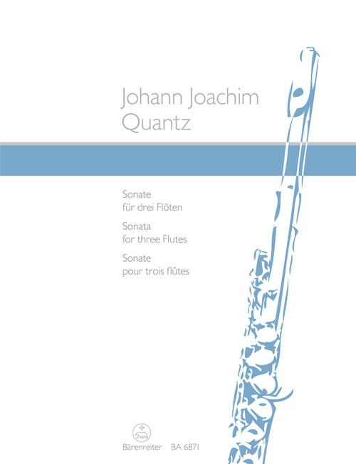 Quantz, Sonata for three Flutes [Bar:BA6871]
