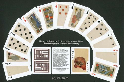 Arnold Schoenberg Playing Cards (Geometric) [Bel:1102]