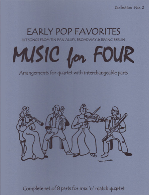 Music for Four, Collection No. 2 Early Pop Favorites [LR:77002]
