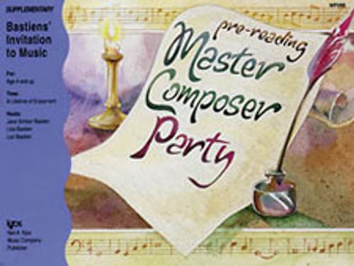 BASTIEN,MASTER COMPOSER PARTY-BOOK B [KJOS:WP288]