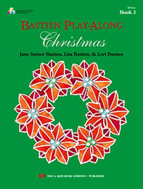 BASTIEN PLAY-ALONG CHRISTMAS,BOOK 2 (BOOK & CD) [KJOS:WP416]