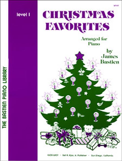Bastien,CHRISTMAS FAVORITES, LEVEL 1 [KJOS:WP49]