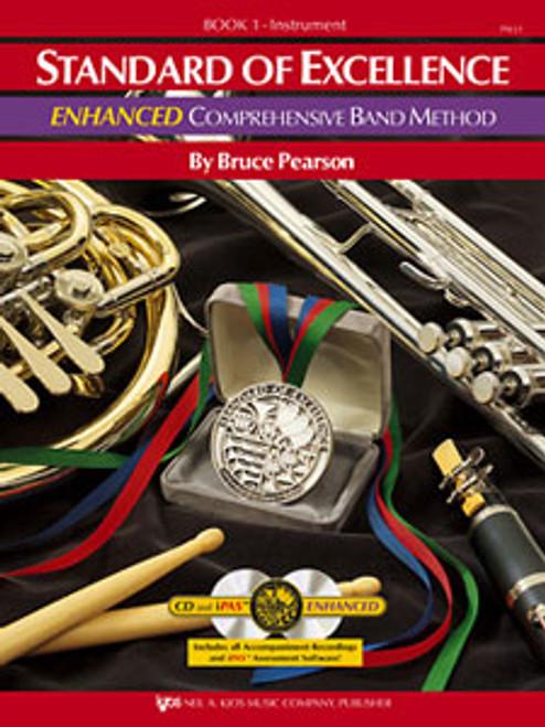 PEARSON, Standard Of Excellence Enhanced Bk 1- Oboe [KJOS:PW21OB]