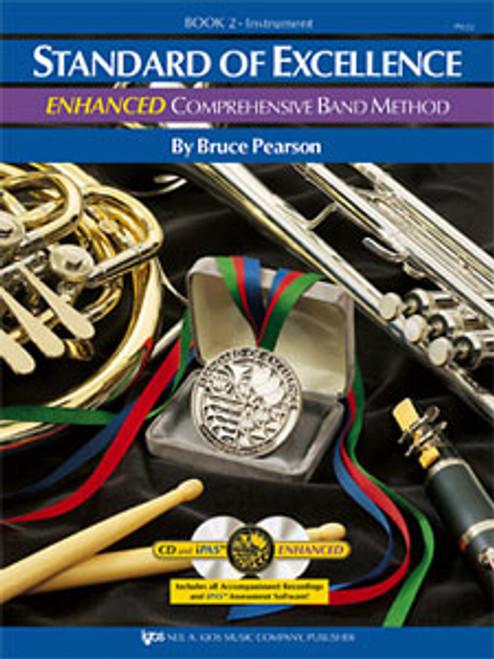 PEARSON, Standard Of Excellence Enhanced Bk 2- Baritone Saxophone [KJOS:PW22XR]