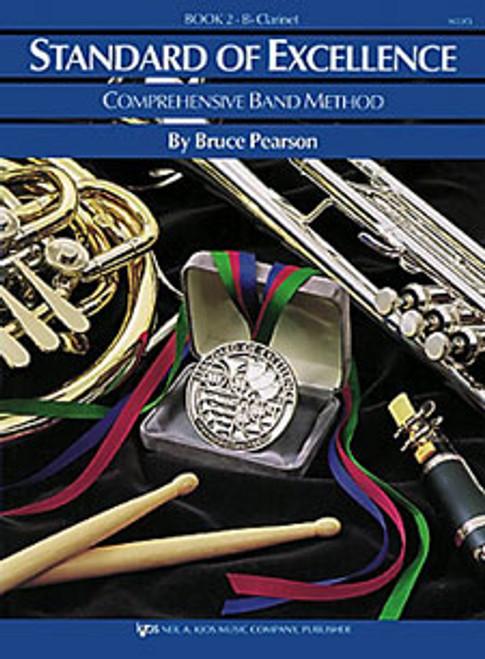 PEARSON, Standard Of Excellence Bk 2, Flute- [KJOS:W22FL]