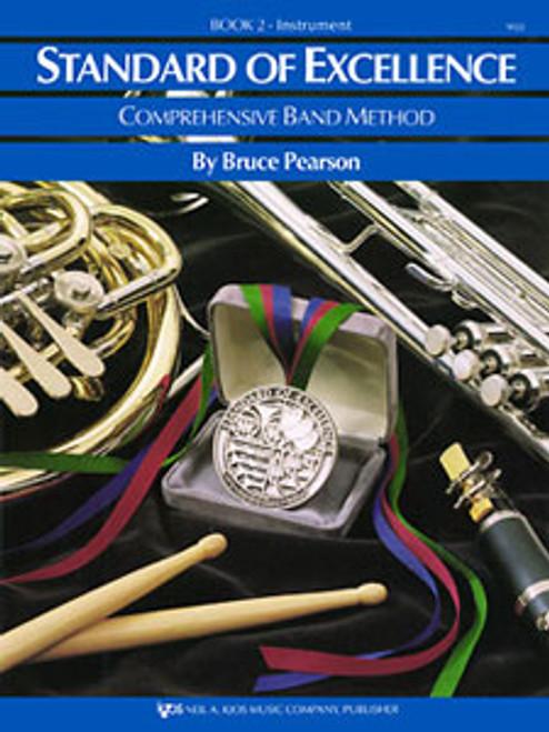 PEARSON, Standard Of Excellence Bk 2, Oboe- [KJOS:W22OB]