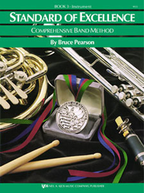 PEARSON, Standard Of Excellence Bk 3, Eb Horn- [KJOS:W23HE]