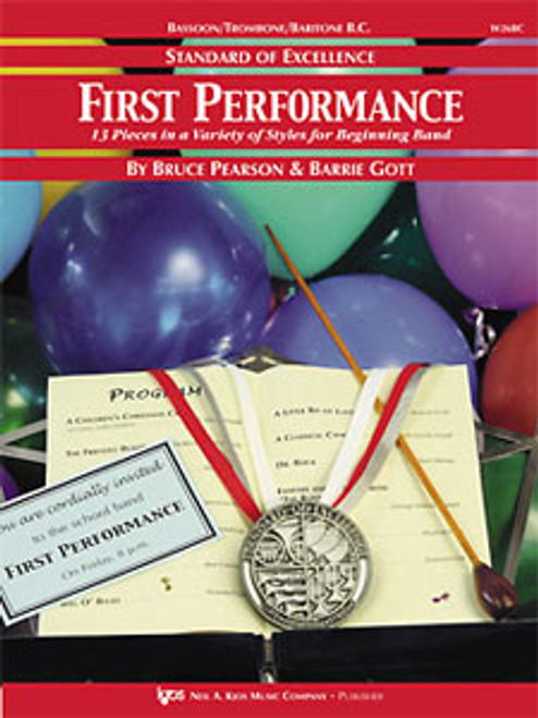 PEARSON, Standard Of Excellence First Performance Baritone Bc- [KJOS:W26BC]