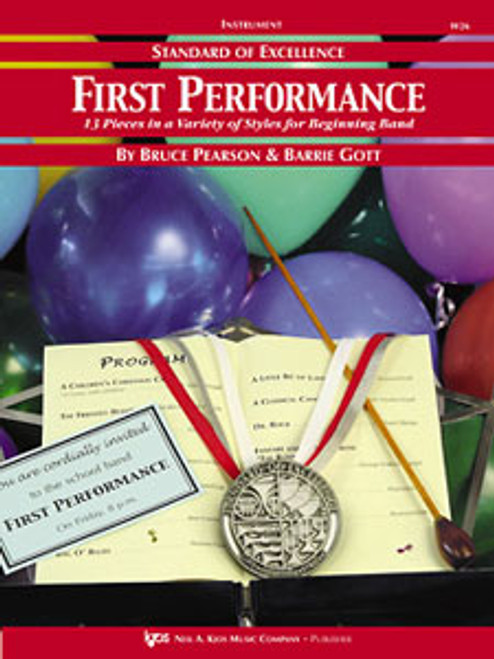 PEARSON, Standard Of Excellence First Performance Eb Baritone Sax [KJOS:W26XR]
